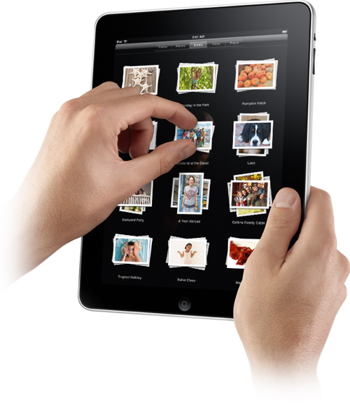 iPad Multitouch