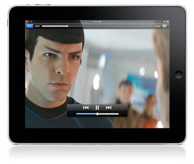 iPad видео