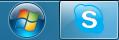 Skype TaskBar Windows 7