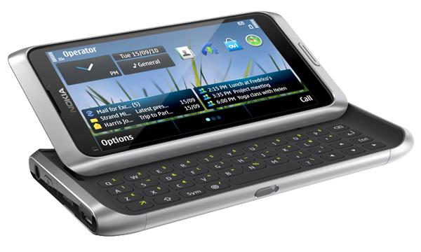 Nokia E7. Изображение с официального сайта