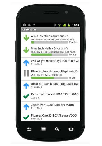 uTorrent для Android