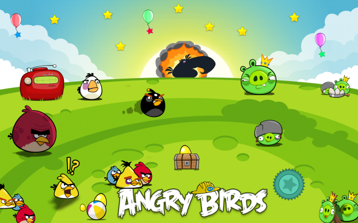 Angry Birds Crowd