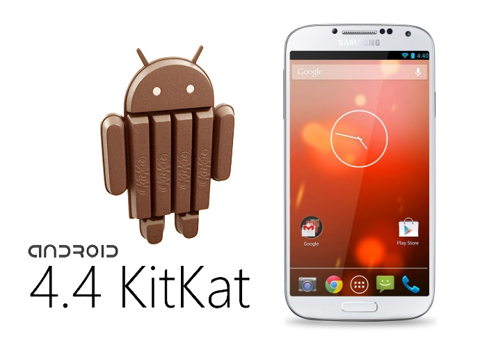 Samsung Galaxy S4 и Android 4.4 KitKat